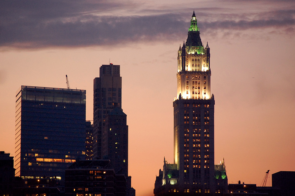 """Woolworth Building"" by laverrue is licensed under CC BY 2.0"
